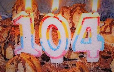 Centenaria Falerna, Rosina ha festeggiato 104 anni