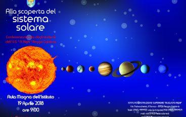 """Conferenza Reggio Calabria: """"Alla scoperta del sistema solare"""""""