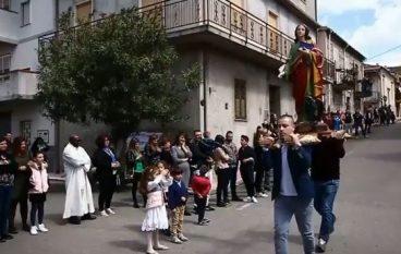 Affruntata 2018 a Bruzzano Zeffirio, grande partecipazione