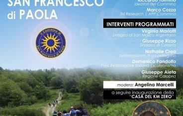 Il Cammino di San Francesco di Paola: presentazione ufficiale