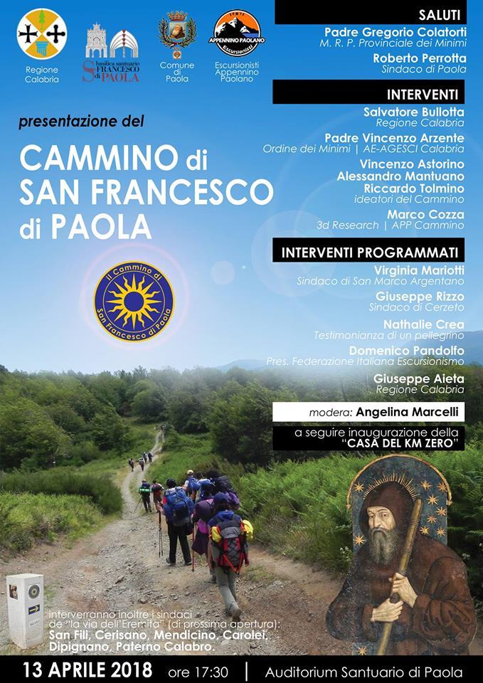 Il Cammino di San Francesco di Paola