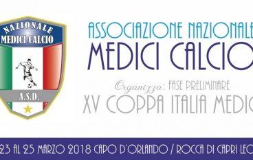 Coppa Italia Medici Calcio, in finale Melito e Reggio Calabria