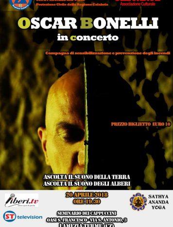 Oscar Bonelli in concerto a Lamezia Terme