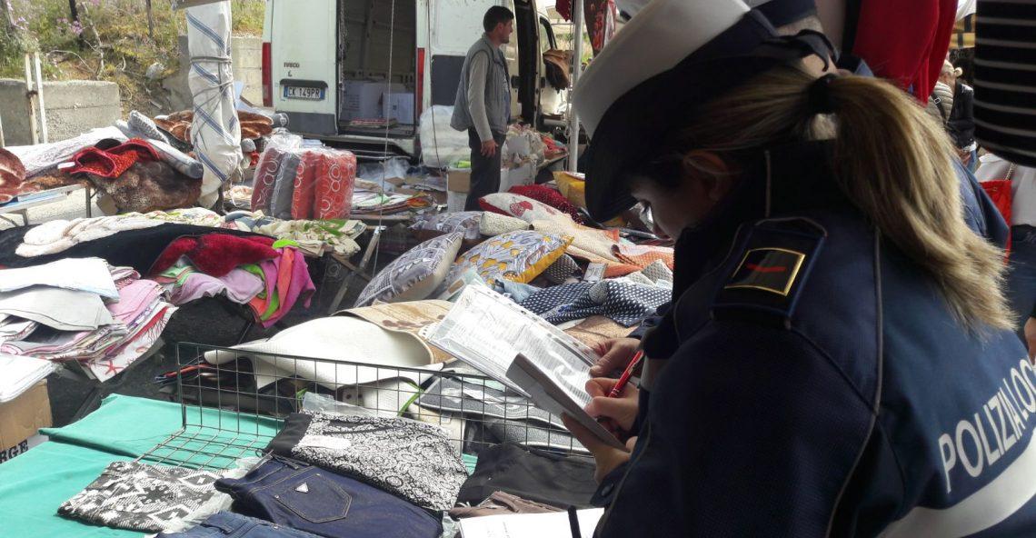 Mercato Melito, controlli della Polizia Locale