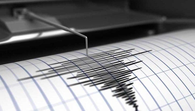 Terremoto a largo di Melito Porto Salvo