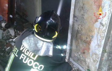 Incendio casolare Catanzaro, nessun ferito