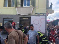 Crolla balcone a Catanzaro, cinque feriti