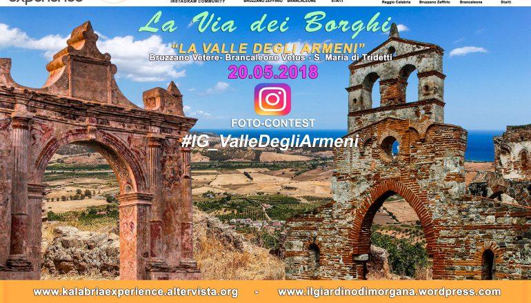 La via dei borghi attraverserà la Valle degli Armeni