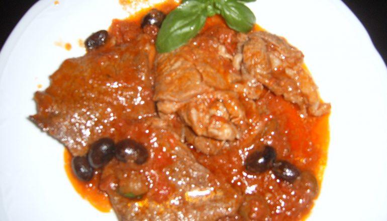 Morchelle con la carne di maiale, ricette calabresi