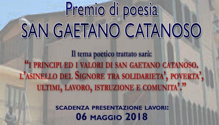 Torna il Premio San Gaetano Catanoso