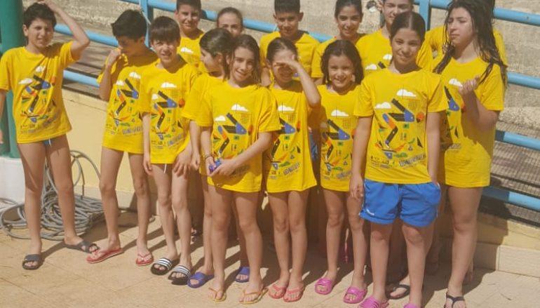 Trofeo Piskeo, Arvalia Nuoto tra i protagonisti