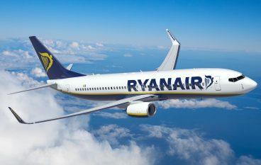 """Voli Crotone, Ryanair: """"Record di prenotazioni per nuove rotte estive"""""""