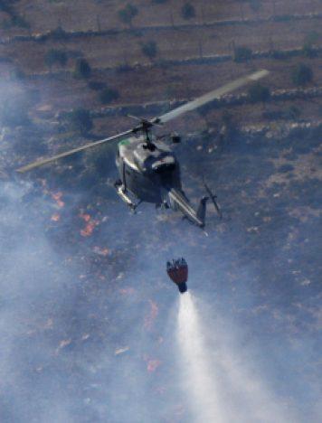 """Campagna Antincendio Boschivo, reggimento """"Sirio"""" in Sicilia"""