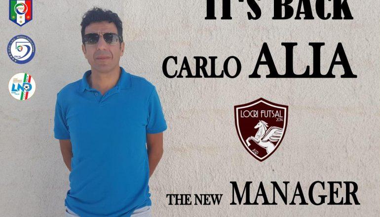 Carlo Alia è il nuovo mister del Locri Futsal