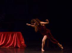 Silvia Legato danzatrice in Cina