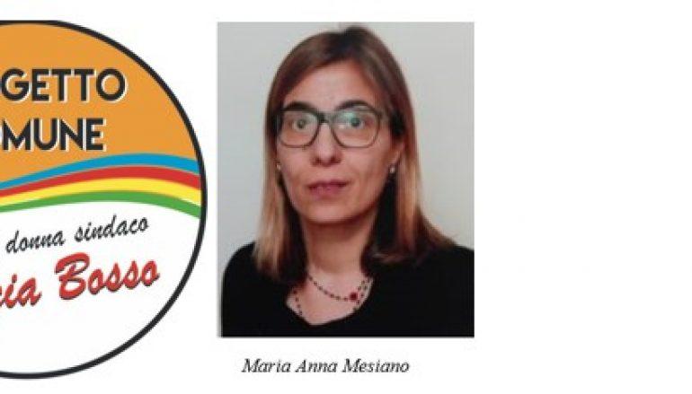 Maria Anna Mesiano è consigliere a Orbassano