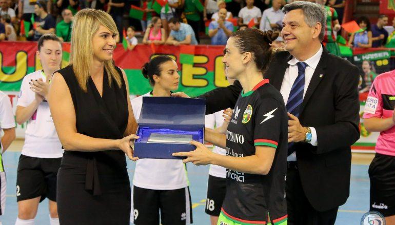 Salva la vita ad un arbitro: premiata la giocatrice Pamela Presto
