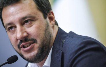 Salvini in polemica con il Sindaco di Riace
