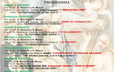 Festa SS. Trinità 2018 a Marina di San Lorenzo