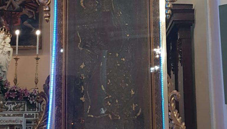 Madonna della Cappella di San Lorenzo, svolta processione