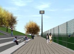 Centro sportivo e parco giochi di Condera, approvato progetto