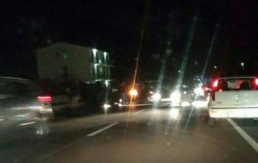 Incidente tra Pellaro e Lazzaro, auto distrutta