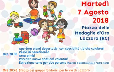 La disabilità in Piazza, serata di solidarietà a Lazzaro