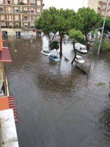 Maltempo a Reggio Calabria