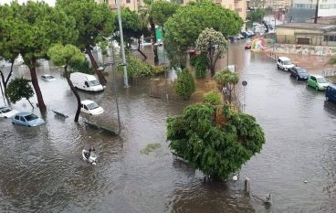 Maltempo a Reggio Calabria, numerosi disagi