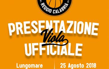 La Viola Reggio Calabria si presenta alla città