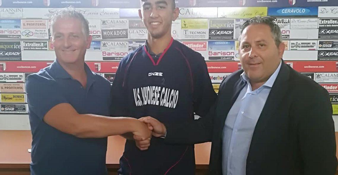 Eugenio Bertone nuovo giocatore dell'US Vibonese