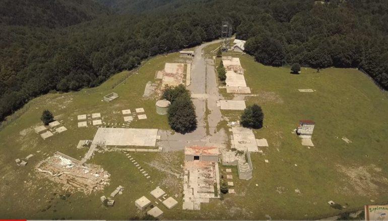 Esplorando l'ex base militare americana USAF, Roccaforte del Greco