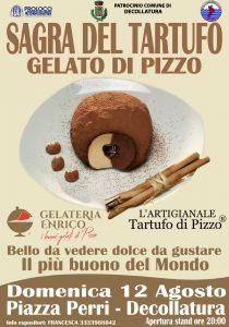 Sagra del tartufo gelato di Pizzo a Decollatura