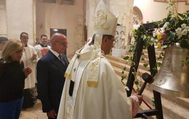 Cattedrale di Cosenza, la BBC Mediocrati dona una campana