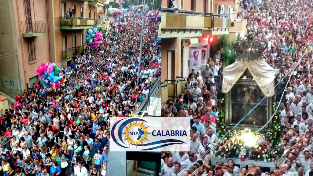 Madonna Reggio Calabria Processione