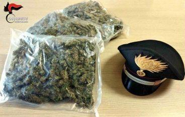 1 kg di marijuana in auto: arrestato a Melito Porto Salvo