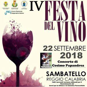 Festa del vino di Sambatello