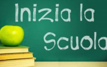 Nuovo anno scolastico: gli auguri dell'Amministrazione melitese