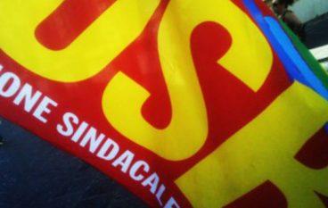Protesta del sindacato Usb a Reggio Calabria