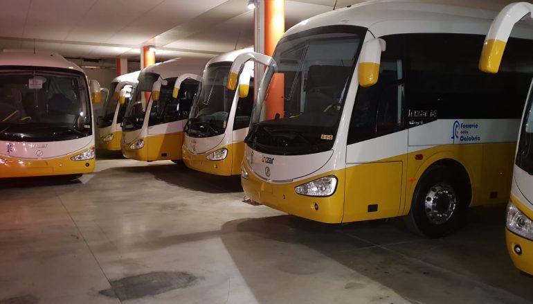 22 nuovi autobus in Calabria