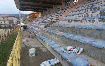 Il campo sportivo di Girifalco si veste di nuovo