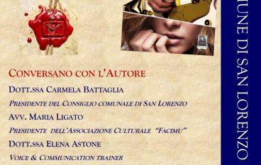 Filippo Ambroggio presenta il suo libro a S. Lorenzo