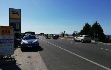 Incidente SS 106 a Bocale, motociclista ferito gravemente
