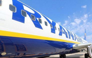 Ryanair da Lamezia, voli estivi 2019