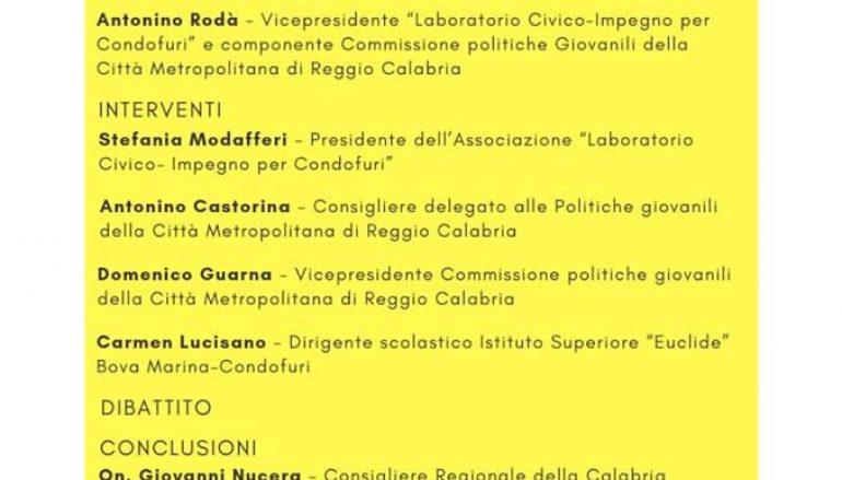 Bando Metropolidea, la presentazione a Condofuri