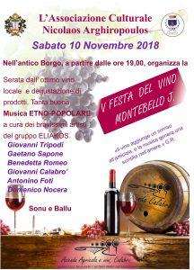 Festa del vino a Montebello