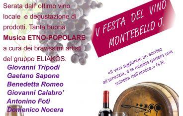 Festa del vino a Montebello Jonico