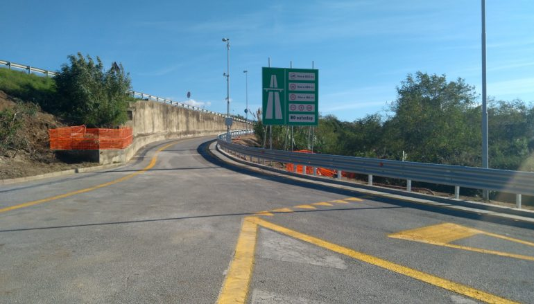 Rampa svincolo Arghillà: riaperta al traffico