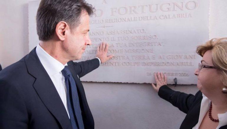 Visita del Premier Conte in Calabria: il resoconto