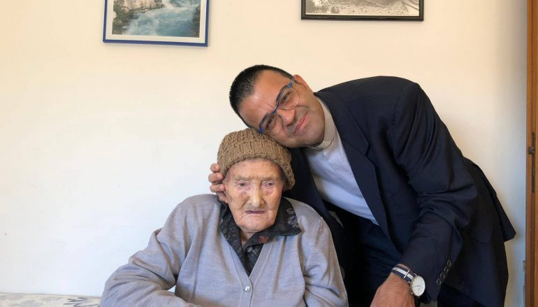 Roghudi, i cento anni di Carmela